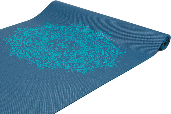 Jógamatka modrá s mandalou Leela