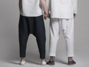 Stylové kalhoty pro jógu a volný čas