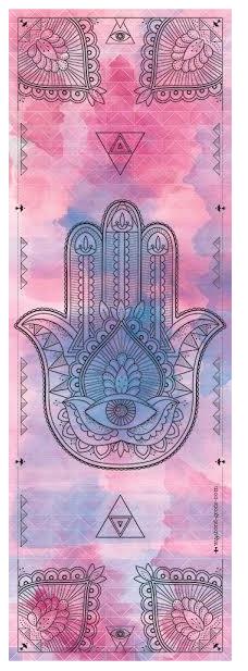 Hamsa: designová a vysoce kvalitní jóga podložka.