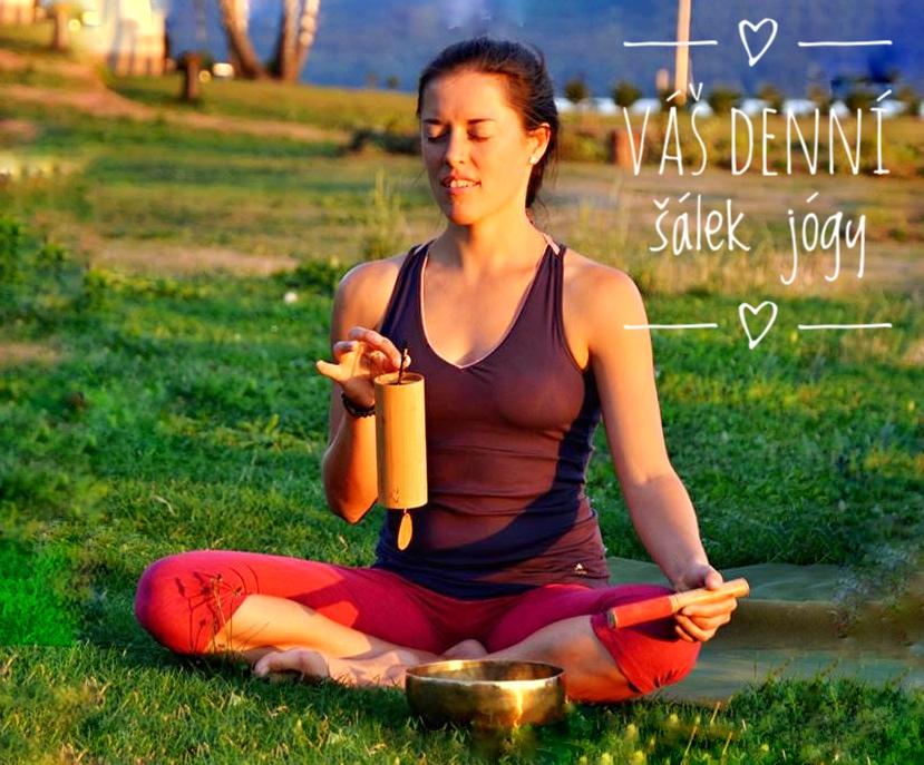 Inspirace k dennímu praktikování jogy od Šárky Soudkové