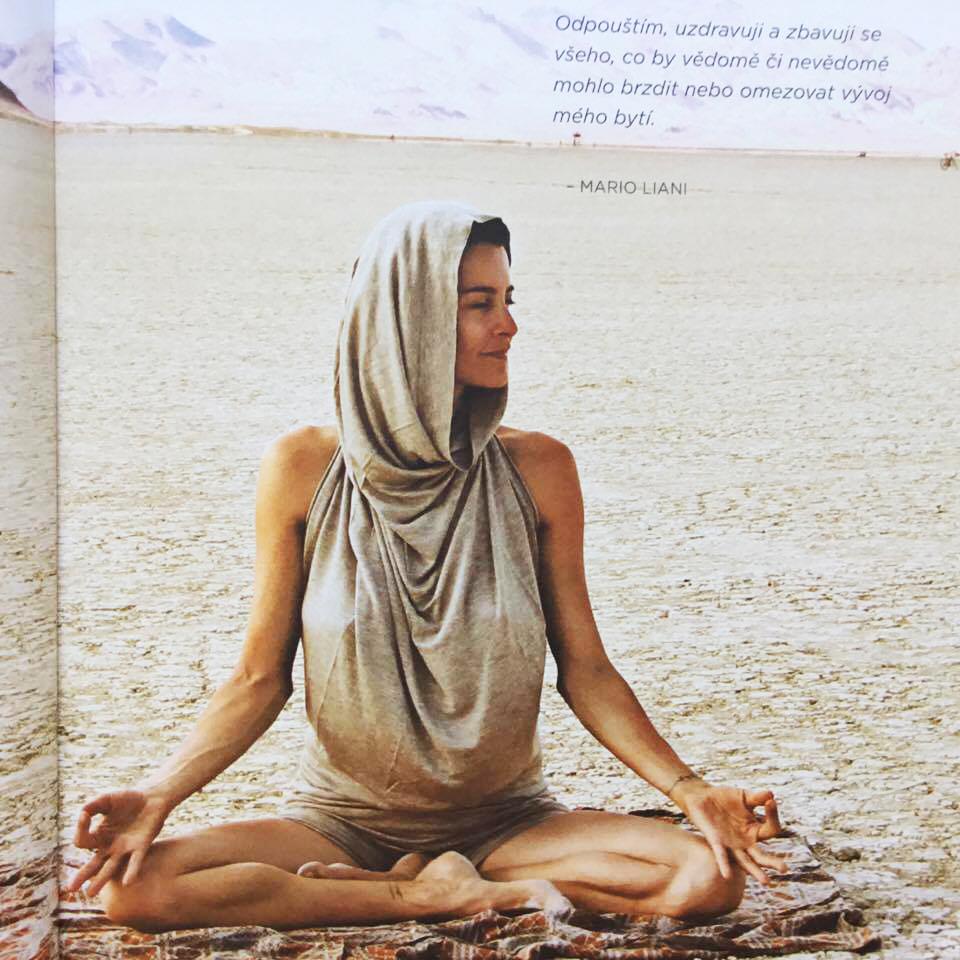 Nádherná kniha o józe. Jóga a umění pozornosti.