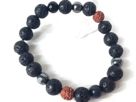 Pánský náramek inspirovaný jógou a silou minerálů