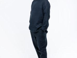 Pánské pohodlné lněné oblečení nejen na cvičení jógy