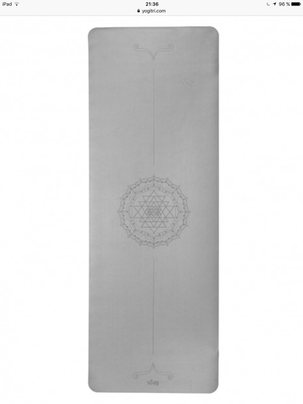 Velmi kvalitní jóga podložka s potiskem v eshopu jógy z obýváku.