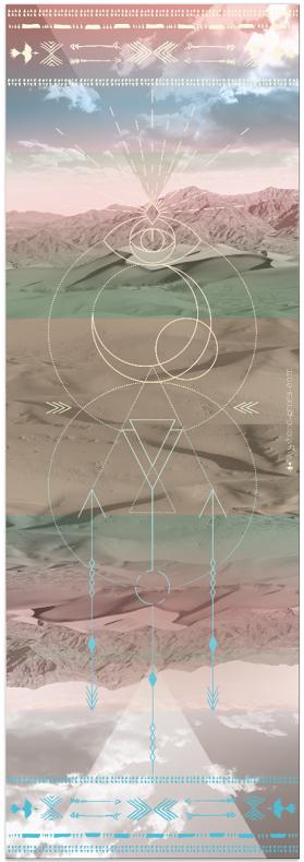 Luxusní jóga podložka s potiskem v eshopu Jóga z obýváku.