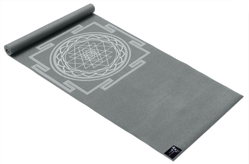 Designová jóga podložka s krásným potiskem.
