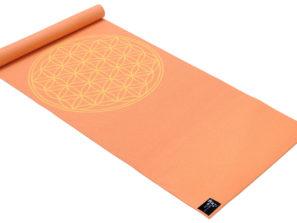 Designová jóga podložka s květem života.