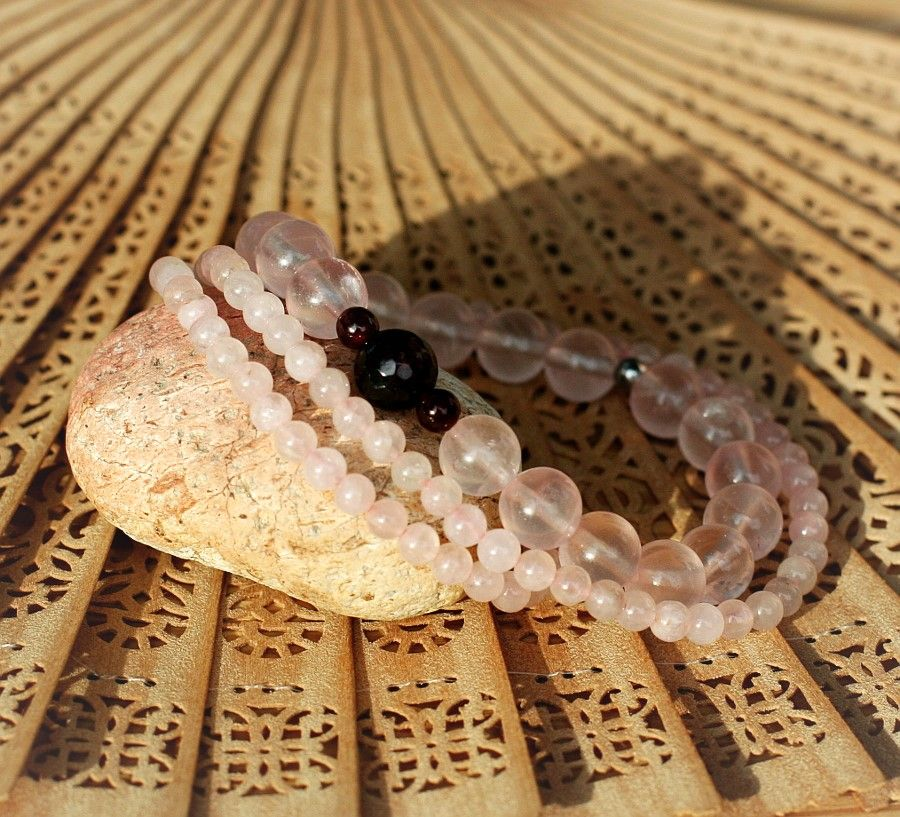 Jóga náramek pro jogínky i nejogínky z přírodních minerálú.