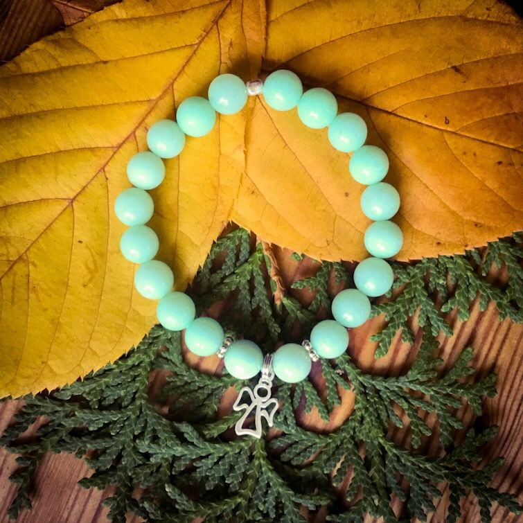 Náramek inspirovaný jógou, dárek pro každou ženu.
