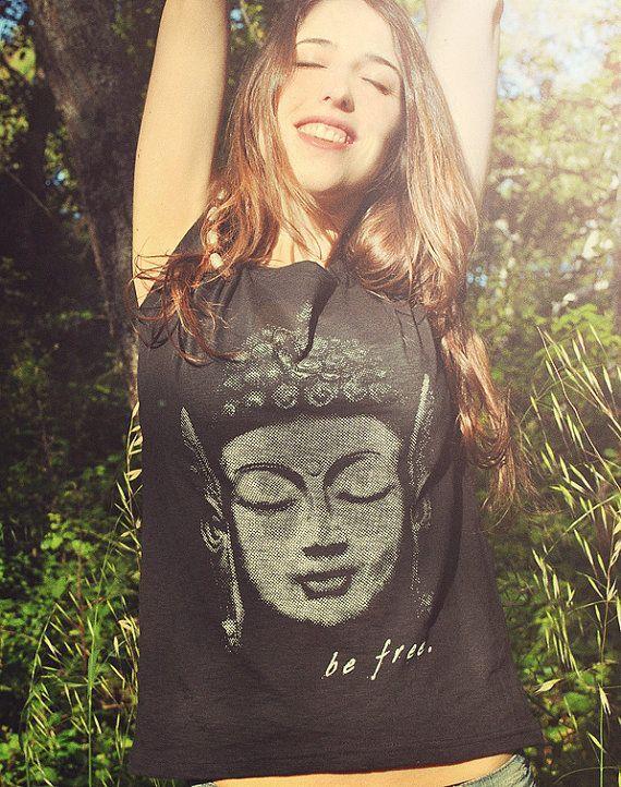 Triko pro joginy a nejoginy s buddhou.