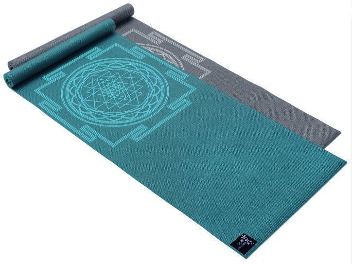 Kvalitní jóga podložka s potiskem.