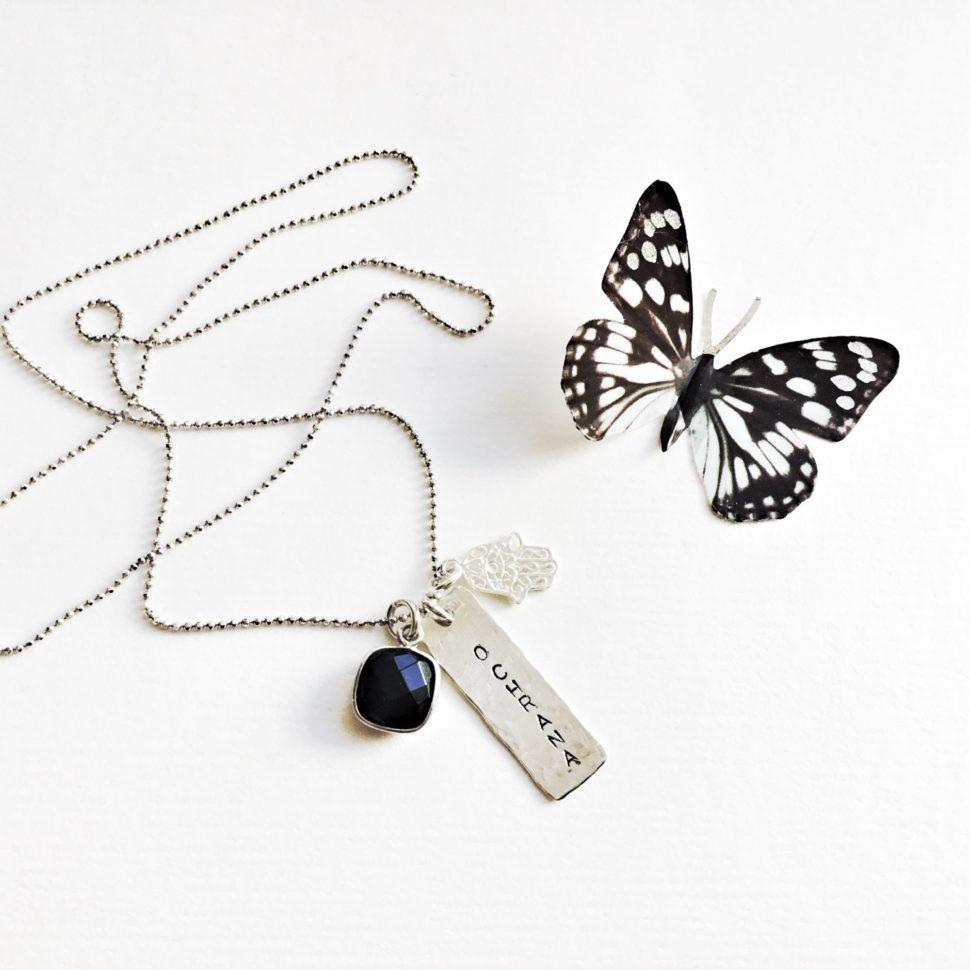 Krásný stříbrný řetízek inspirovaný jógou, pro jogínku a každou ženu.