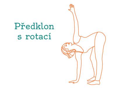 Cvičení jógy proti únavě.