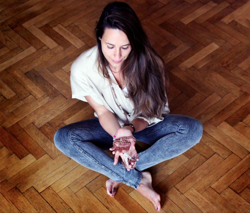 Tvůrkyně jóga šperků Kamila.