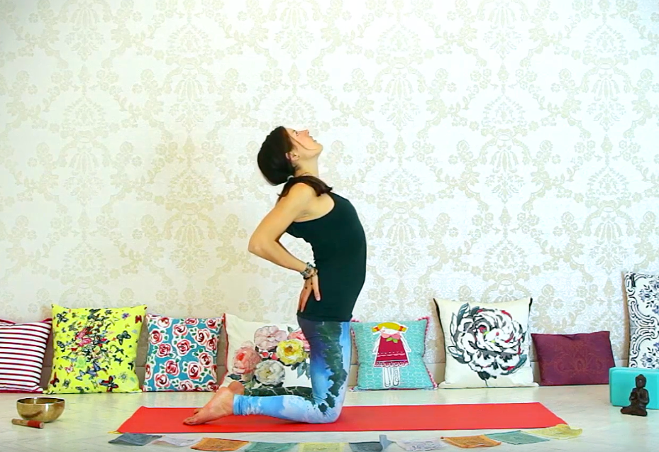 Cvičení jógy doma, sestava pěti tibeťanů.