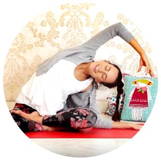 Cvičení jógy online pro ženy.