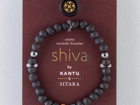 Náramek SHIVA pro jogínku i nejogínku inspirovaný aromaterapií a jógou.