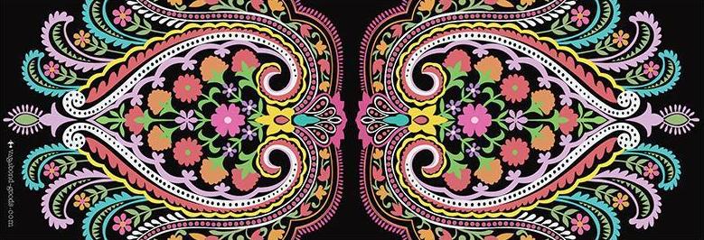 Luxusní jóga podložka snádherným designem.