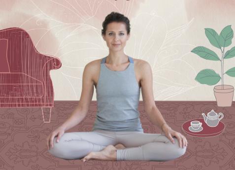 Kniha Jóga z obýváku nabízí inspiraci pro jóga začátečníky i ty, co józe už dávno propadli.