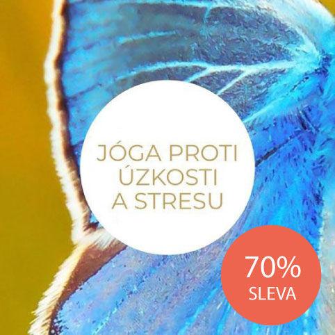 Balíček jógy pro domácí cvičení pro jóga začátečníky ipokročilé jogíny proti stresu, úzkosti adepresi.
